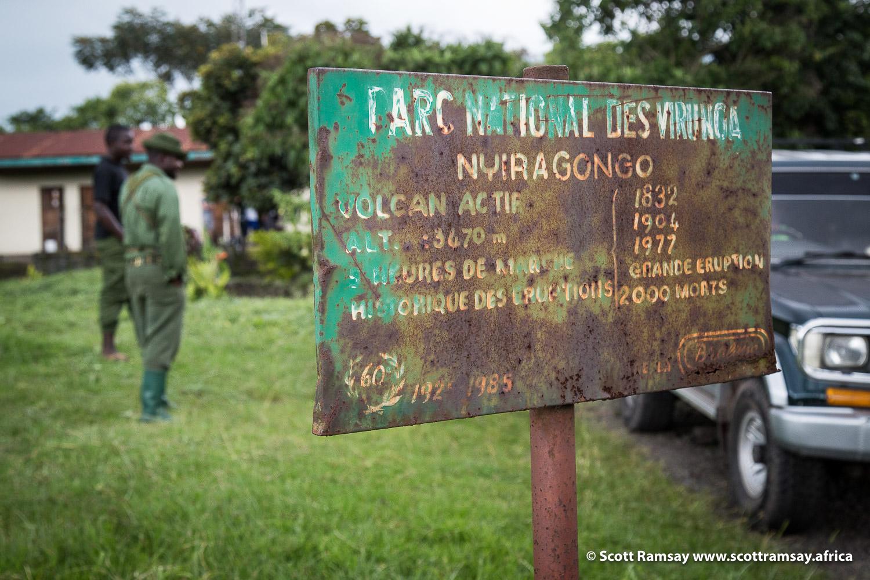 Virunga Nyiragongo - copyright Scott Ramsay