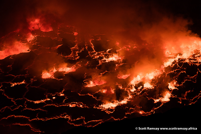 Virunga Nyiragongo - copyright Scott Ramsay-24