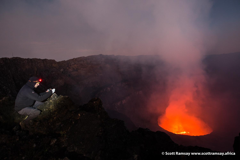 Virunga Nyiragongo - copyright Scott Ramsay-28