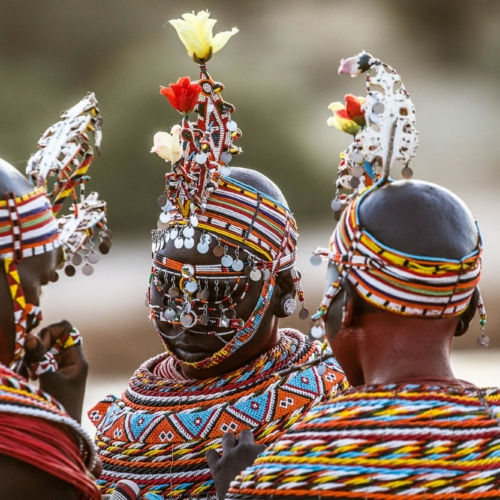 Samburu Girls, Kenya
