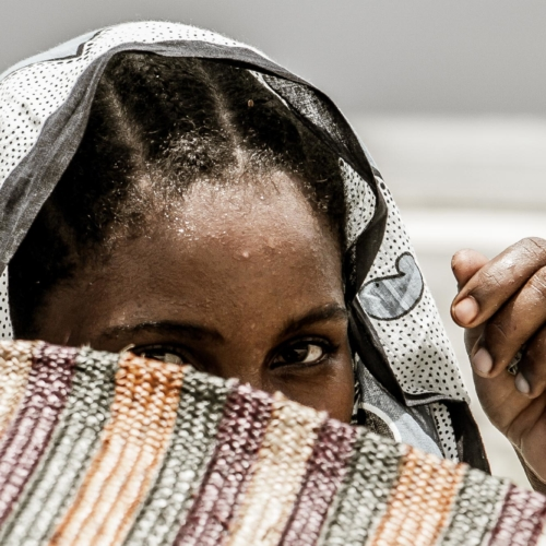 Woman, Zanzibar, Tanzania