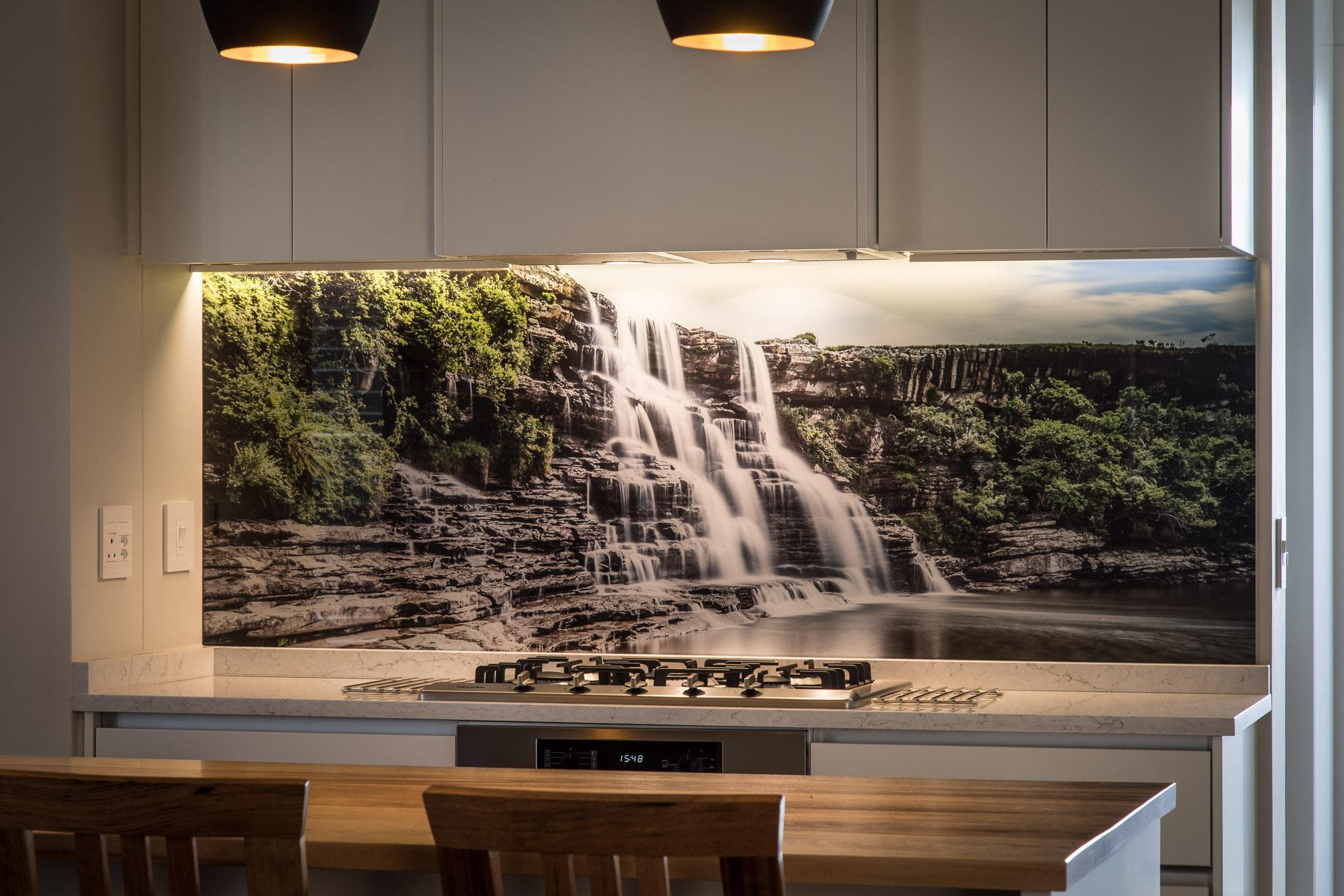 Mkambati Falls - Kitchen Splashback
