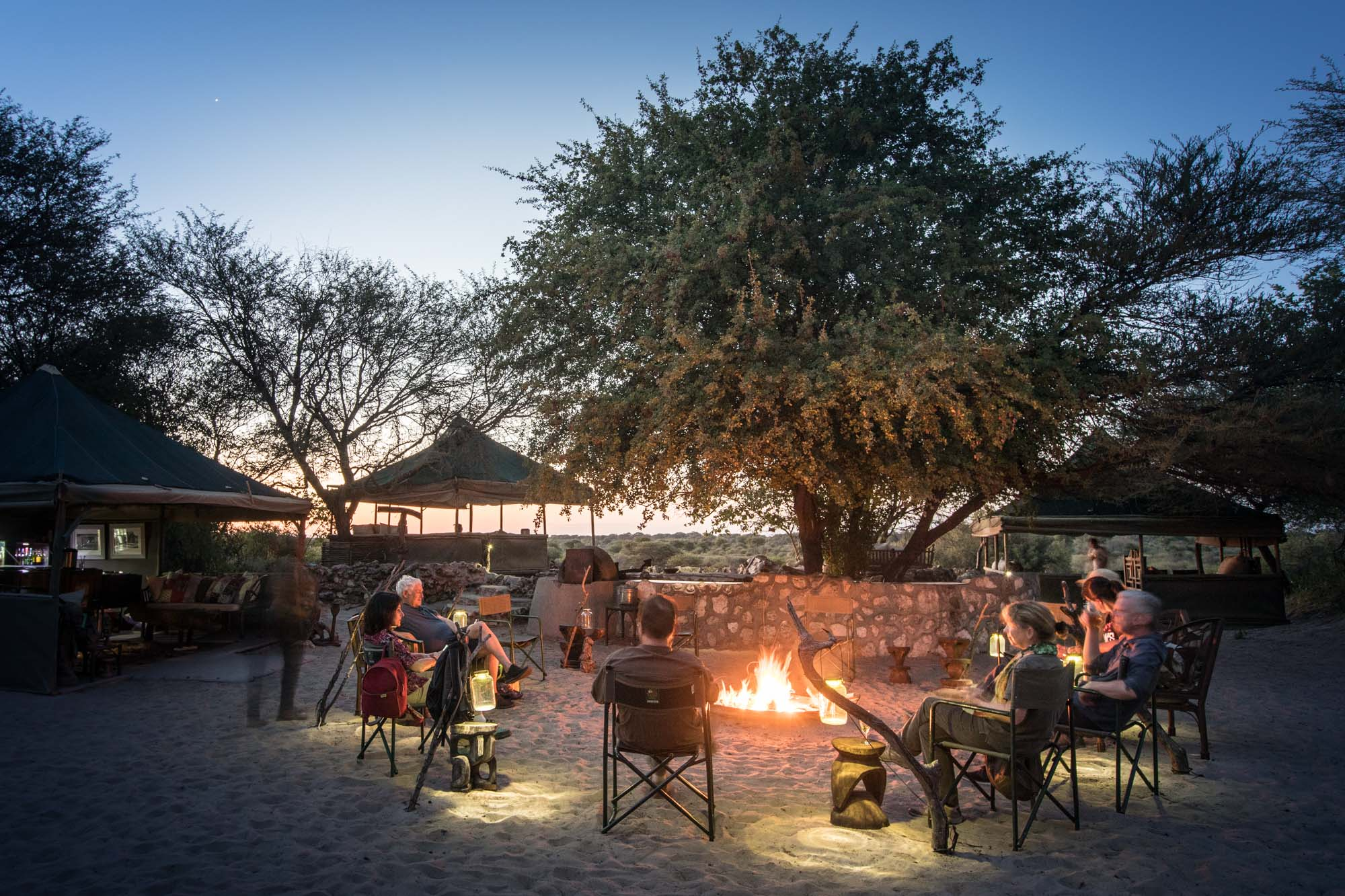 Meno a Kwena lodge is the largest employer of local people in Moreomaoto Village. Tourists from around the world come to Botswana to see wildlife, but if local people don't meaningfully benefit from the presence of the wild animals, there's little incentive to protect it...