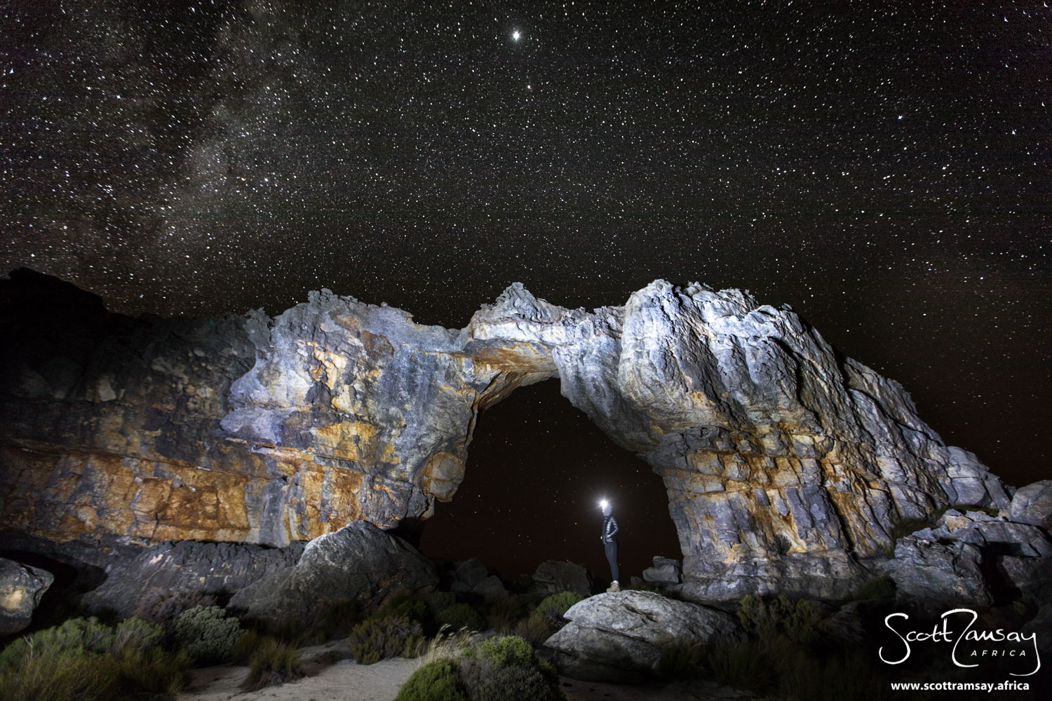 We are all made of star dust. Scientifically proven, but truly experienced when sleeping under the stars at the Wolfberg Arch.