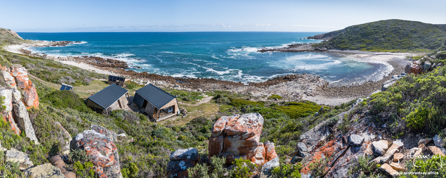 The huts at Noetsie are perfectly positioned overlooking the cove and estuary. One of the best overnight spots in any South African nature reserve.