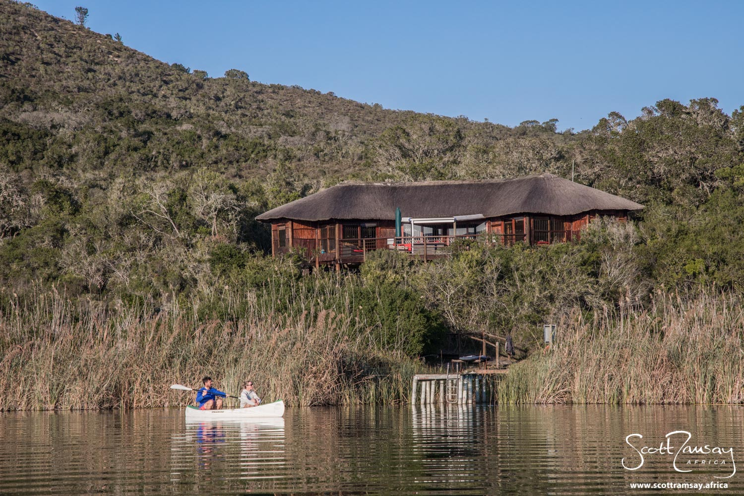 Mvubu Lodge is on the edge of Groenvlei, and is a fantastic place to base yourself to explore the northern side of Goukamma. Although the noise of the N2 traffic is obvious during the day, at night it does lessen somewhat.
