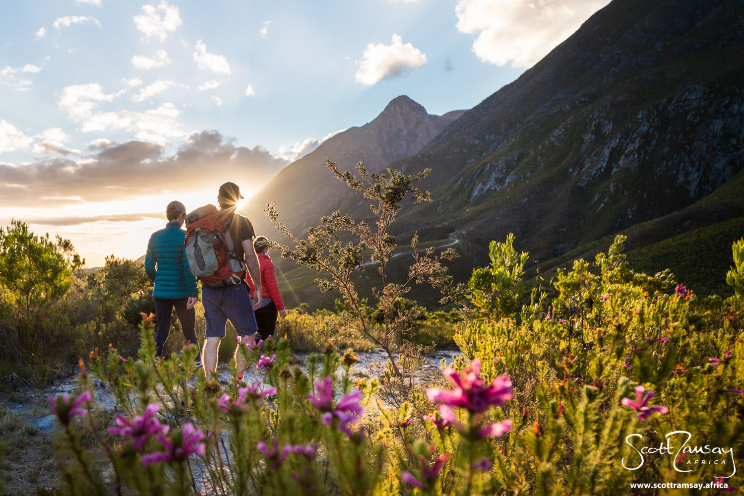 Marloth is known for it's rugged mountains and fynbos diversity. It's a place that you need several days to explore properly on foot, because there are no roads, only hiking paths. And watch out for the weather, which can change quickly.